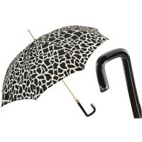 6fbab8db04f9 Зонт-трость Pasotti 460 21029-55 G17 белый механический ручной работы с  принтом