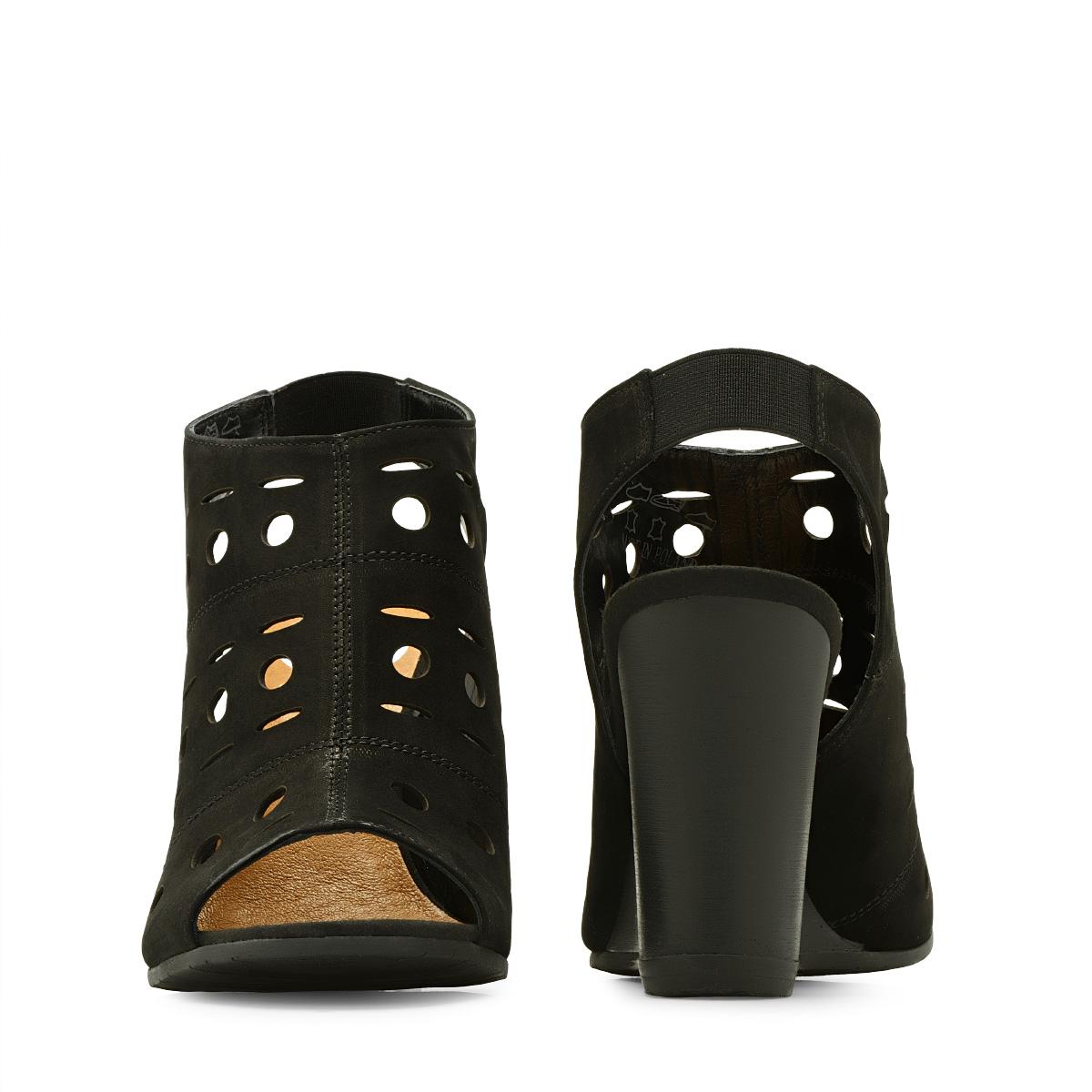 d4dc83578 ᐉ Босоножки Rylko 9HH82_K_ _U61 кожаные черные купить в Киеве ...