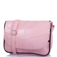 671a452c1f72 Маленькая женская сумка кросс-боди Yunona 2409-13 кожаная нежно-розовая