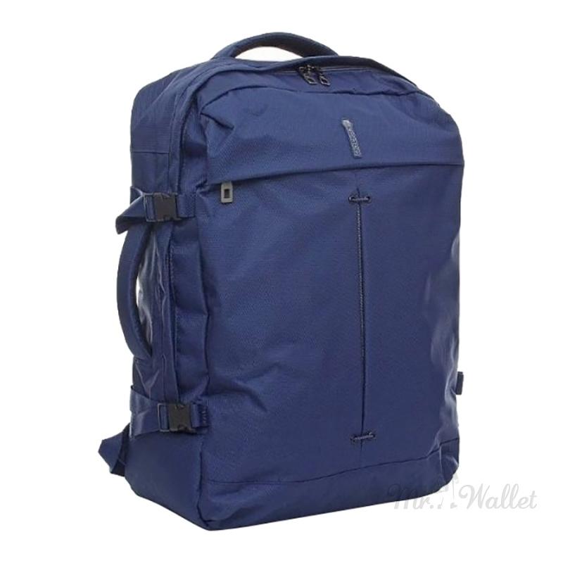 69094cfcc53d ᐉ Сумка-рюкзак Roncato Ironik 415116/23 темно-синего цвета дорожная ...