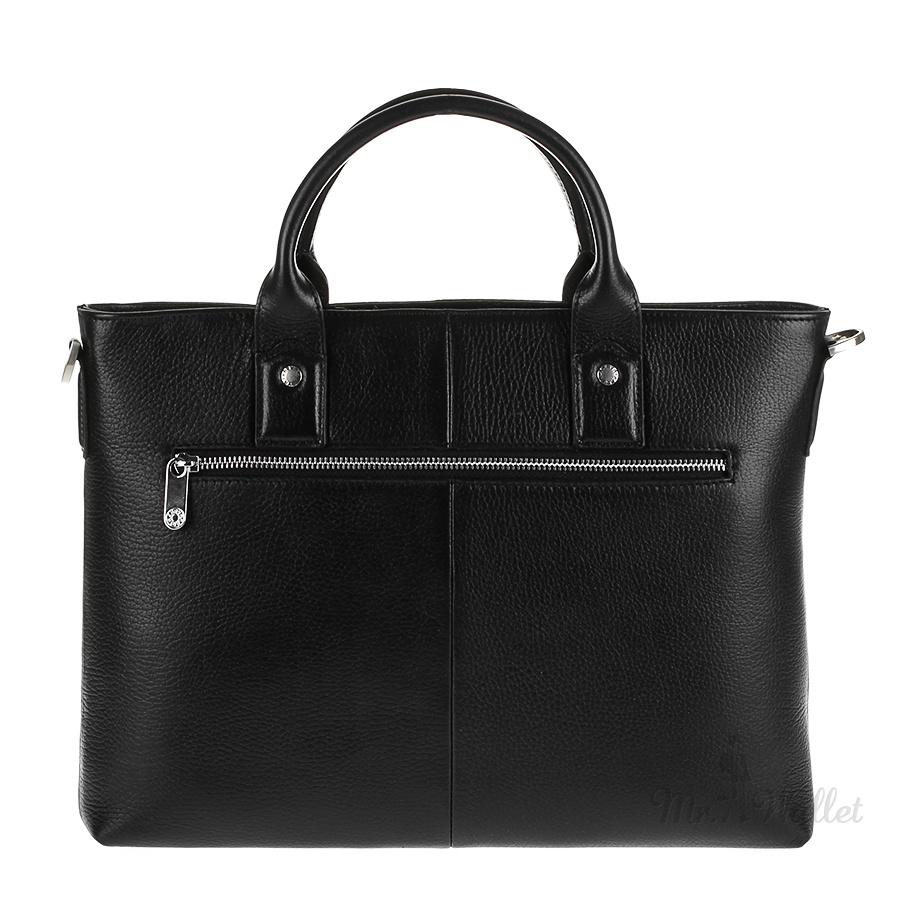 1469ac70effb ᐉ Сумка-портфель Karya 0762-45 кожаная черная мужская купить в ...