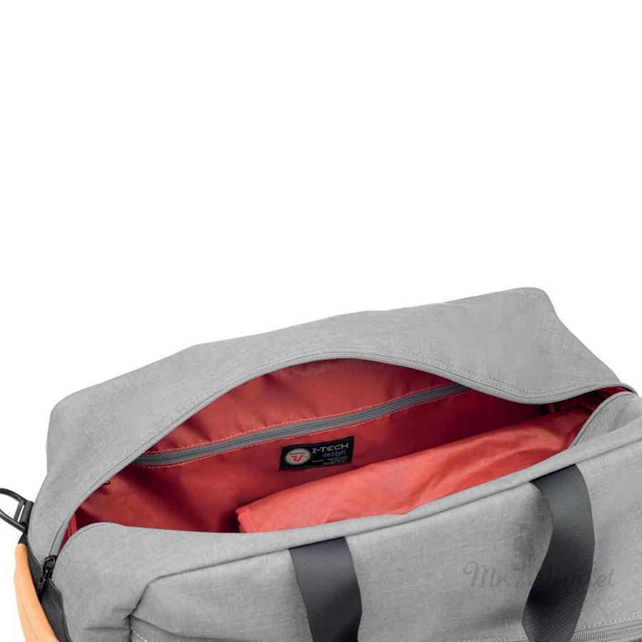 45891dbec32f Сумка-рюкзак Roncato Adventure 414315/02 текстильная серая дорожная