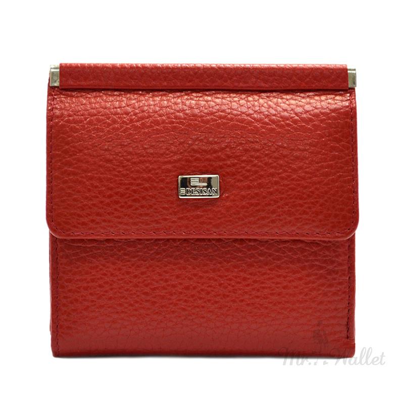 2763c381a440 ᐉ Кошелек Desisan 067-4 кожаный красный женский купить в Киеве ...
