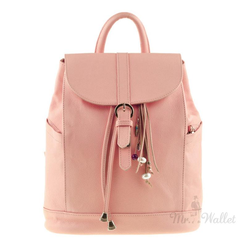 318de07aa27b ᐉ Рюкзак Blanknote BN-BAG-13-barbie кожаный розовый