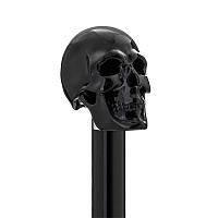 Ложка для обуви Pasotti CS W33NE - BLACK SKULL SHOEHORN Череп