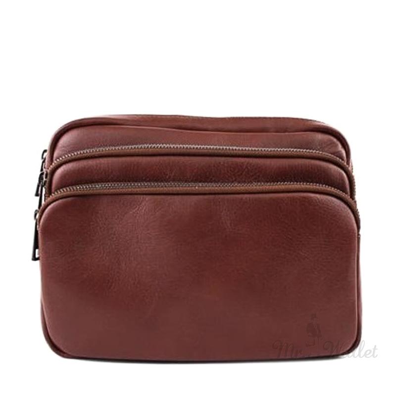 d0554a1d2a4e ᐉ Сумка Bottega Carele BC607 1 кожаная коричневая на пояс купить в ...