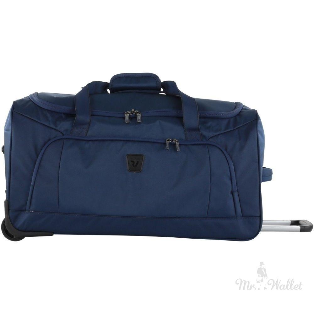 0e4ed8a4466e Сумка Roncato Tribe 414504/23 текстильная синяя дорожная на колесах