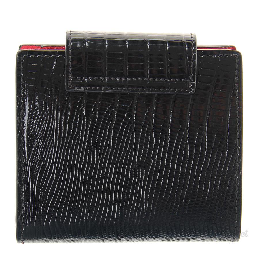 310bfae6a24b Кошелек Neri Karra 0593.1-32.01/05 кожаный лаковый красно-черный
