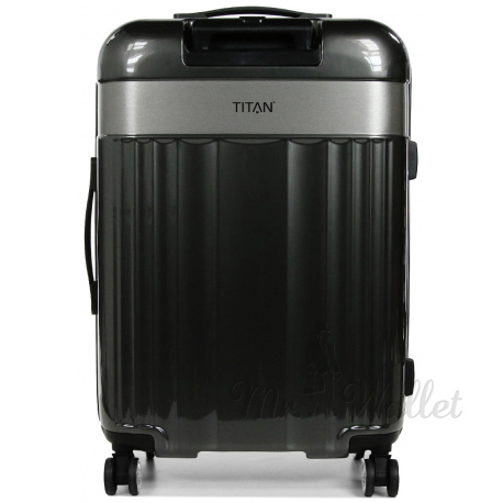 Чемодан Titan SPOTLIGHT FLASH Anthracite  Ti831405-04 средний