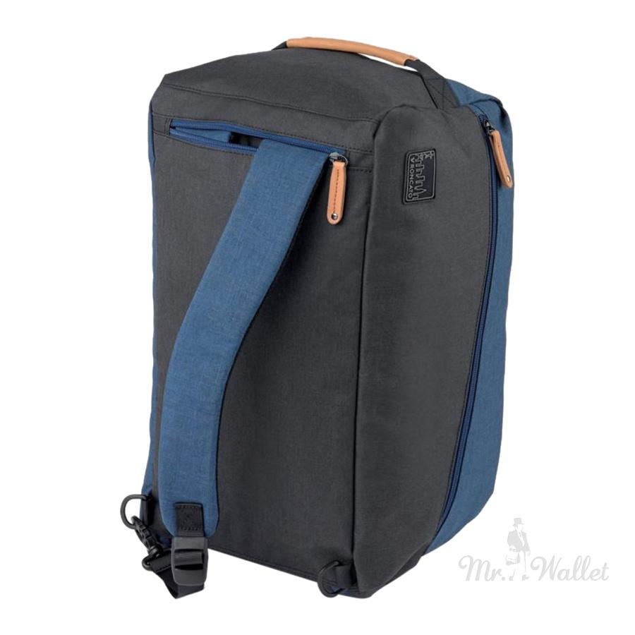 8c999dba1aa2 Сумка-рюкзак Roncato Adventure 414315/23 текстильная синяя дорожная