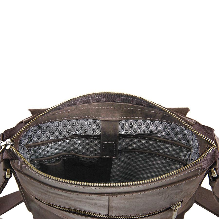 6b6049a10bee ᐉ Сумка Tom Stone 504 C BR кожаная коричневая мужская купить в ...