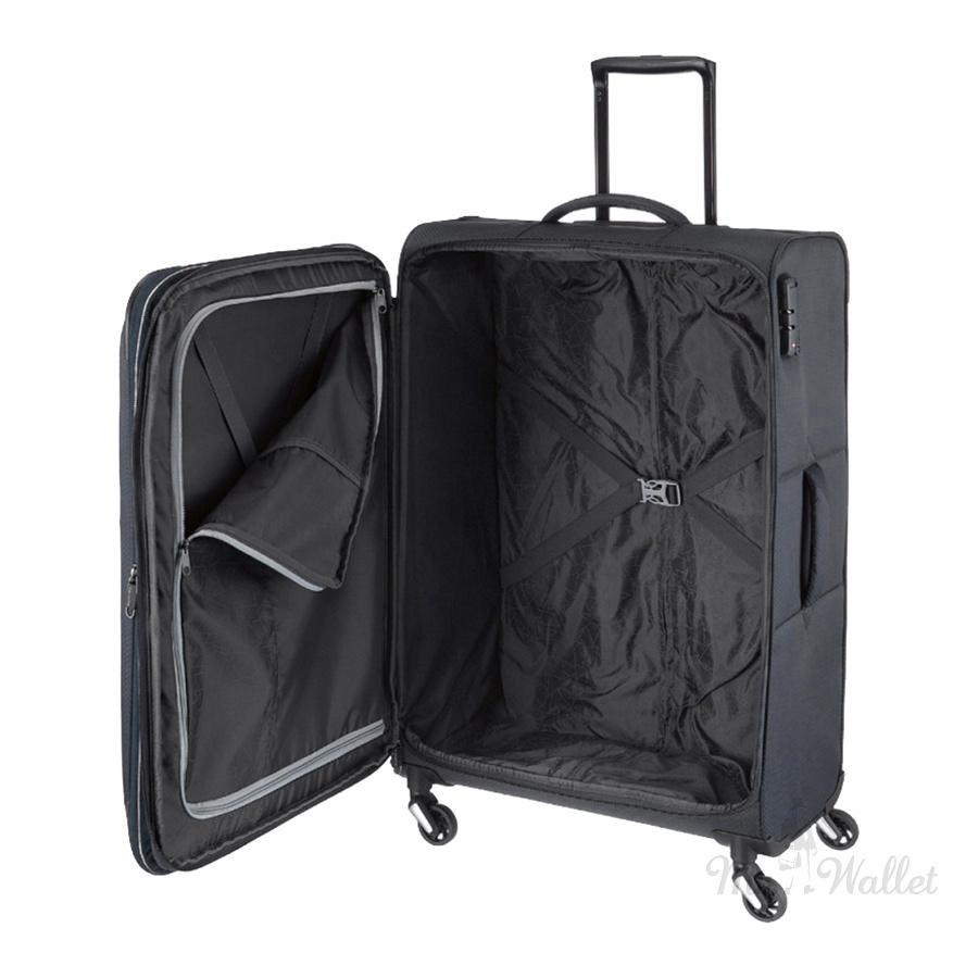 5269df113359 Чемодан Travelite Kite TL089948-01 текстильный Размер M Черный