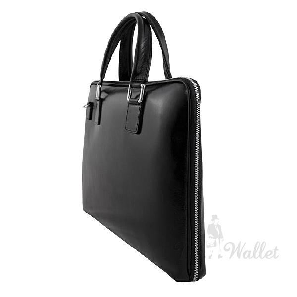 d6ae19f29925 Портфель Bottega Carele BC801 кожаный черный