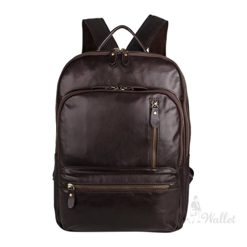 d334b7431f4b ᐉ Рюкзак Blamont 7313Q кожаный коричневый мужской купить в Киеве ...