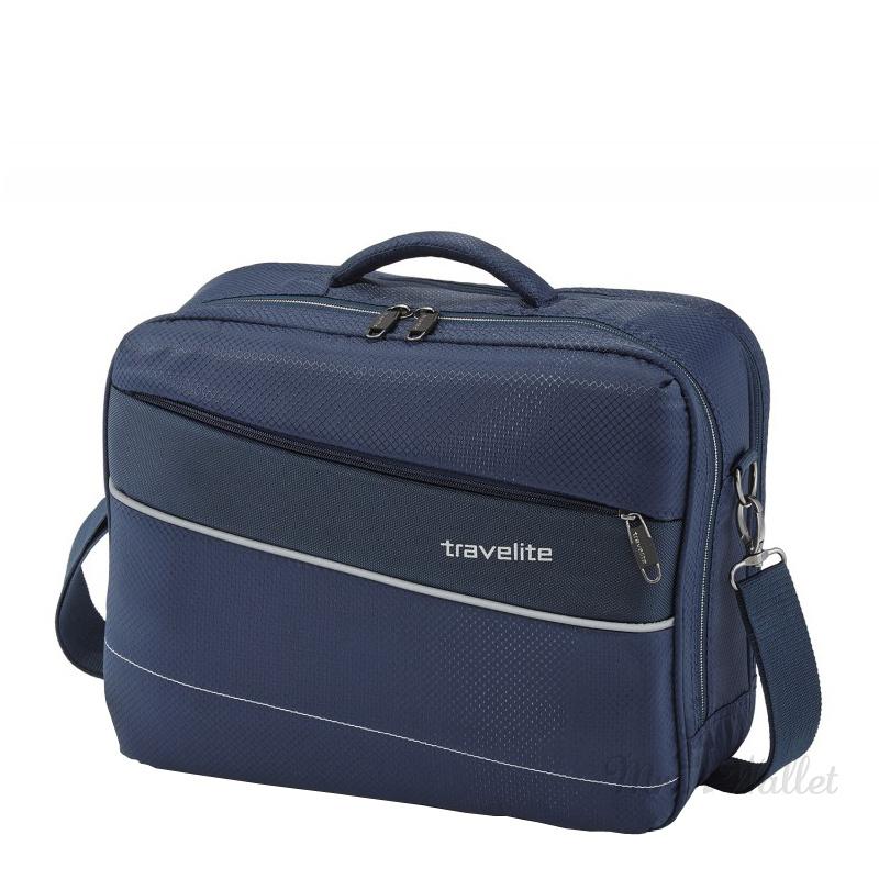 cb84a4ab25b3 ᐉ Сумка Travelite KITE TL089904-20 текстильная синяя купить в Киеве ...