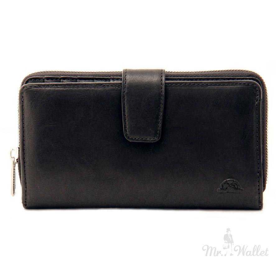 c8cb63e757c3 ᐉ Кошелек Tony Perotti Just 2649А nero кожаный черный купить в ...