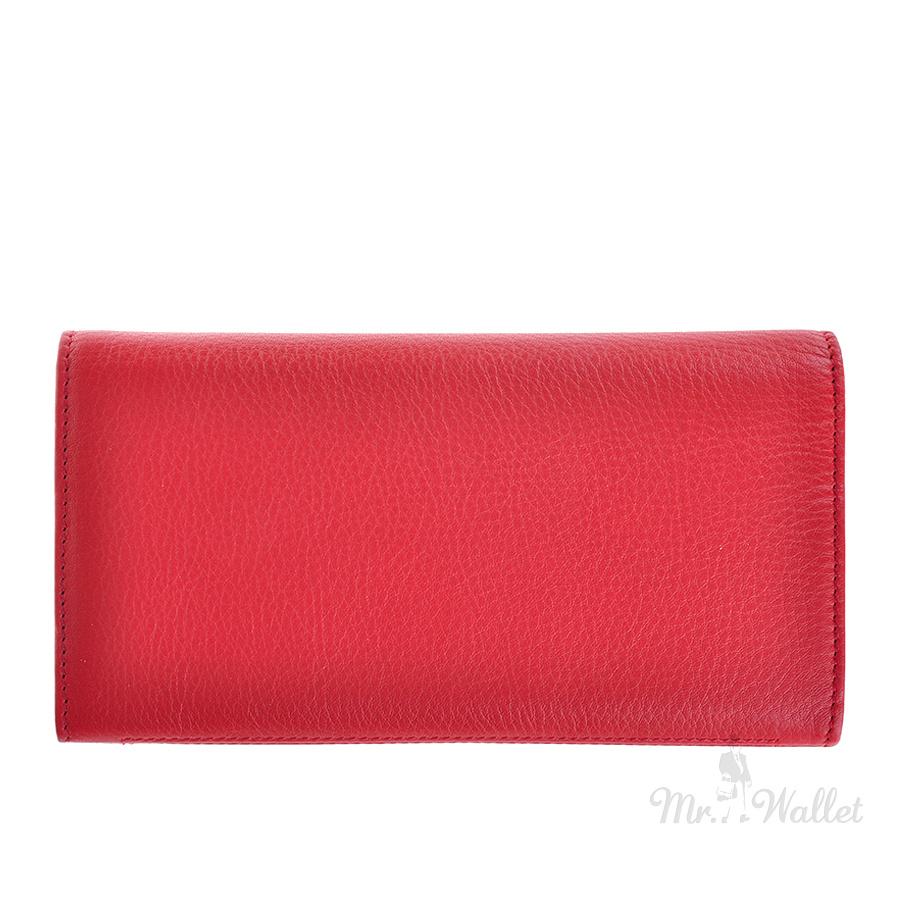dfce39c2218f Кошелек Tony Perotti New Contatto 3435 rosso кожаный красный женский