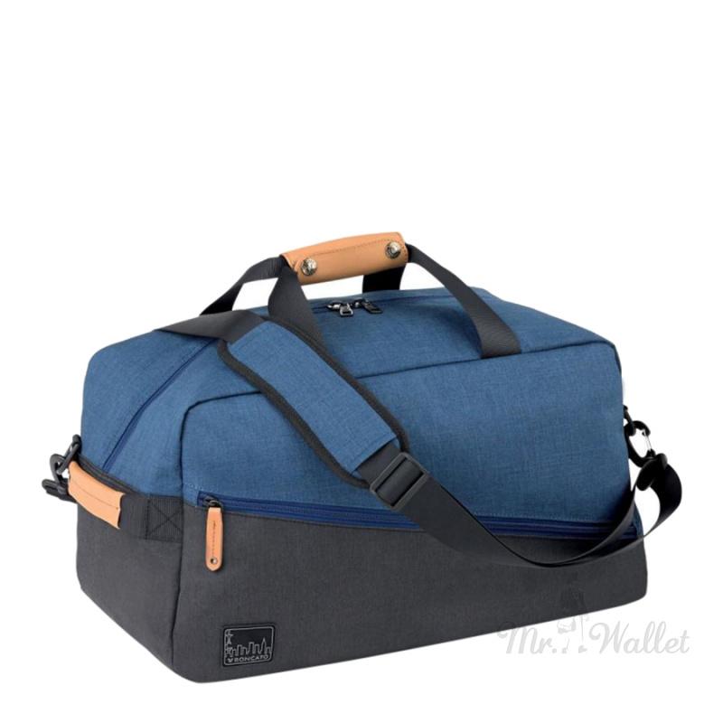 c4b81e9241d7 Сумка-рюкзак Roncato Adventure 414315/23 текстильная синяя дорожная
