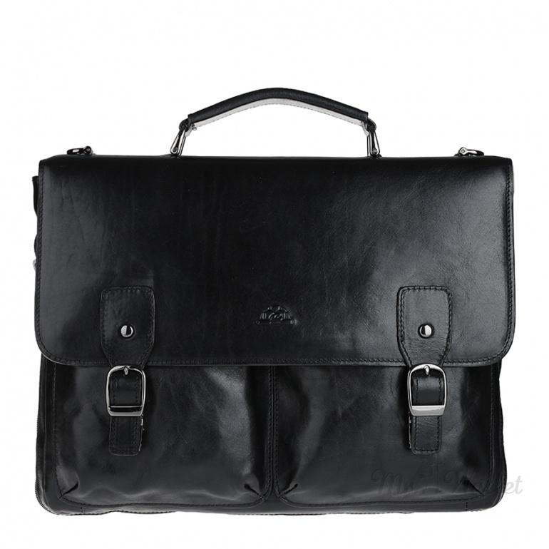 77073df1a935 ᐉ Портфель Tony Perotti Italico 9338-38 nero кожаный черный мужской ...