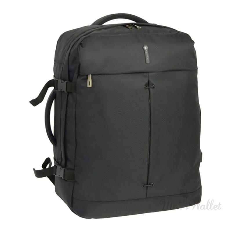 e5ae41532e37 ᐉ Сумка-рюкзак Roncato Ironik 415116/01 черная дорожная купить в ...
