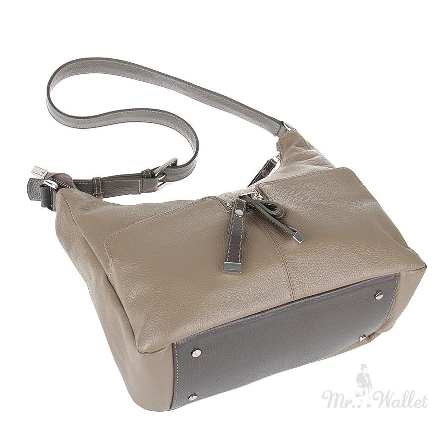49613b61e587 Кожаная сумка женская цвета