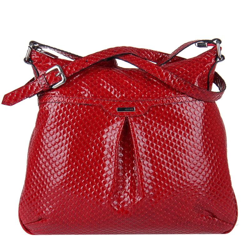 Красные женские сумки из натуральной кожи - Купить в Москве